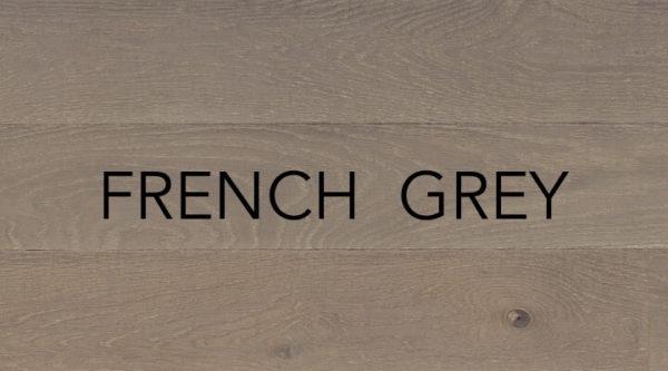 French Grey Engineered Oak Flooring