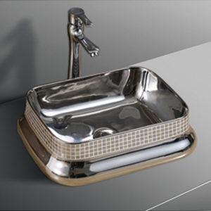 B0262A Gloss Silver Basin