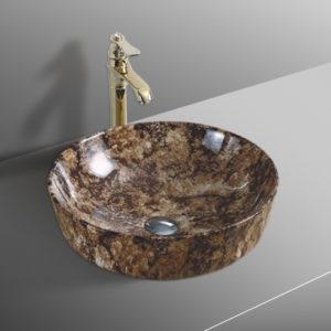 B0305 Gloss Marble Basin
