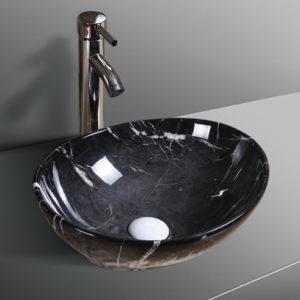 B0329 Glossy Marble Basin