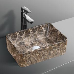 B0360B Gloss Marble Basin