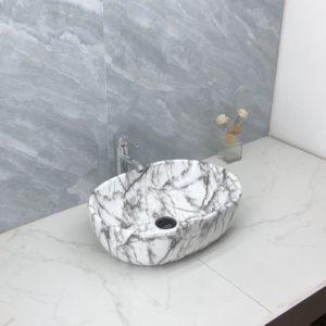 B6123A-1 Gloss Marble Basin
