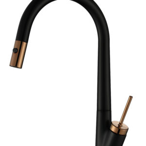 M59805B/RG Rose Gold Pull-Out Kitchen Mixer