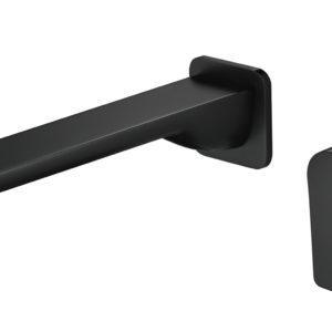 M73051-2B Black Wall Basin Faucet