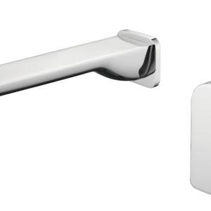 M73051-2C Chrome Wall Basin Faucet