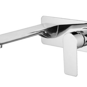 M73051C Chrome Wall Basin Faucet