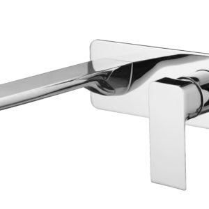 M73151C Chrome Wall Basin Faucet