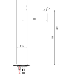 MHD4231SH Chrome Basin Mixer