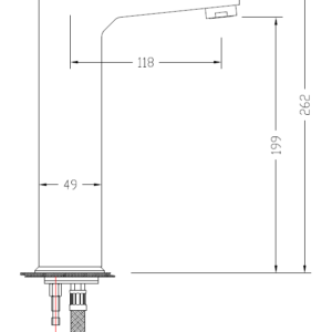 MHD4900 Chrome Basin Mixer