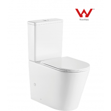 LT-T2125A-R Rimless Two Piece Toilet