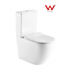 LT-T2141A-R Rimless Two Piece Toilet