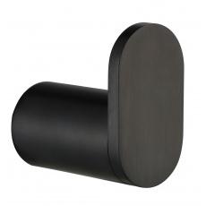 RH18001SBP Brushed Black Robe Hook