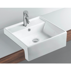 B6042 Gloss White Basin