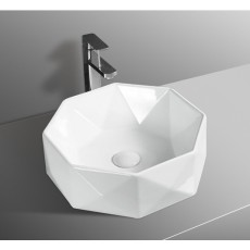WG35 Gloss White Basin