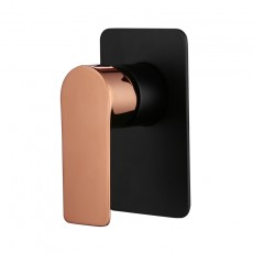 SM73053BRG Black/Rose Gold Shower Mixer