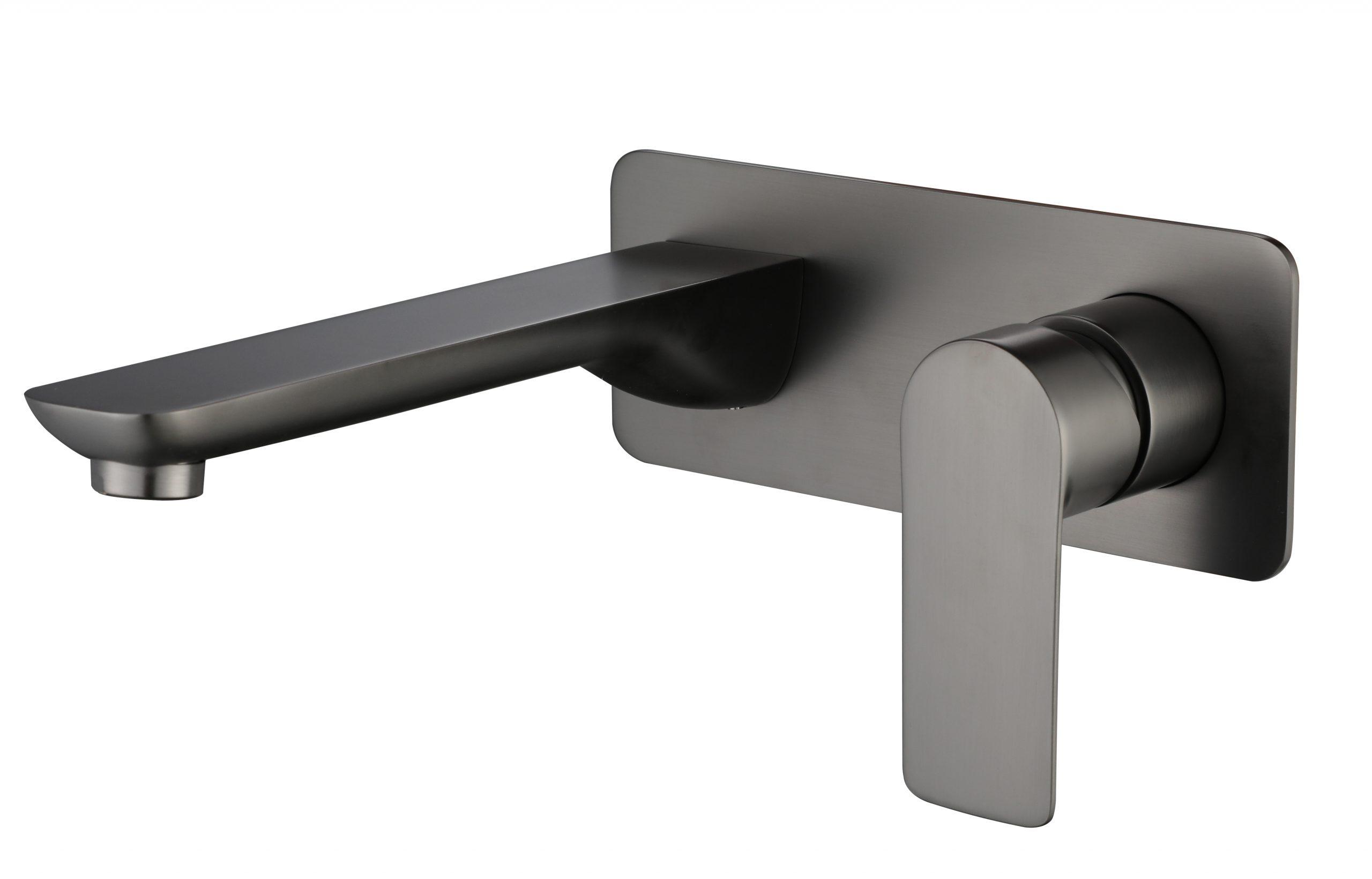 M73051GM Gun Metal Wall Basin Faucet