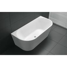 BTA1400 ATLANTA Back to Wall Bathtub