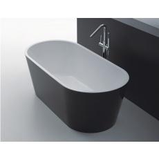 BTO1500 OSLO Freestanding Bathtub in Black